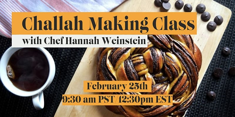 Challah Break baking class